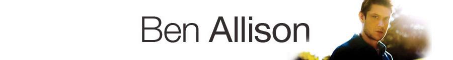 Ben Allison banner